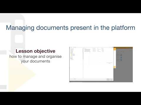 usBIM.platform ONE Tutorial - Managing documents present in the platform - ACCA software thumbnail