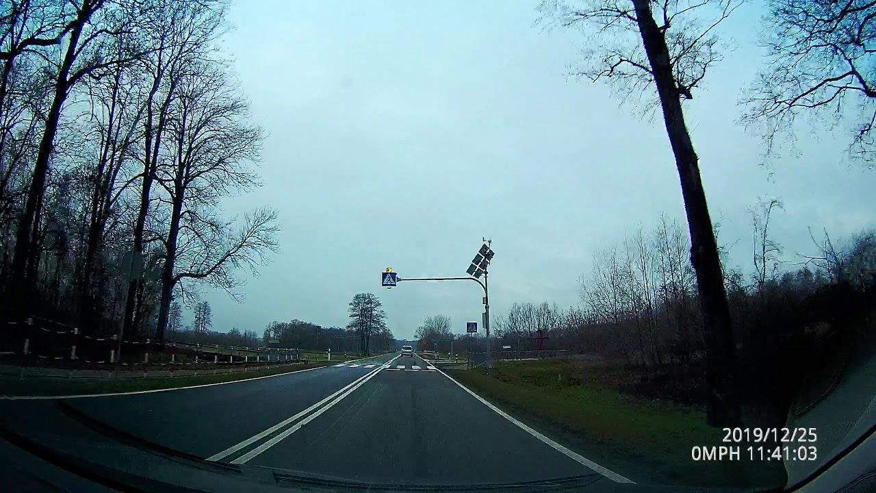 Дорога Польша - Германия в реальном времени со звуком дороги!/Е30 drive w.real sound. Poland-Germany