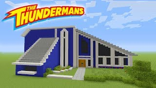 Minecraft Tutorial: How To Make The Thundermans House