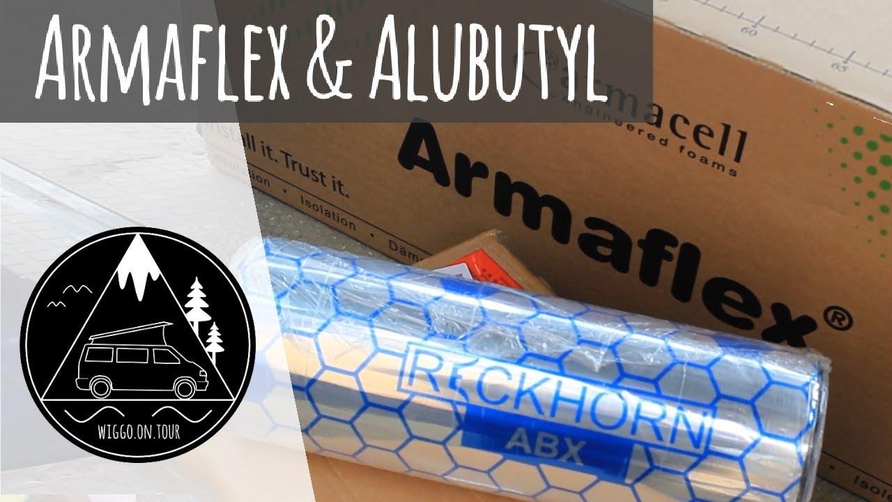 Camper Entdrohnen Und Isolieren Armaflex Alubutyl Vw T4