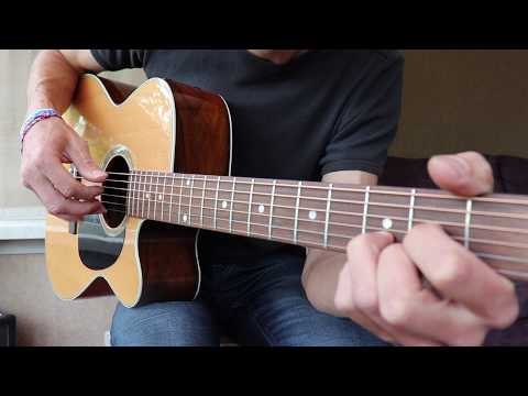 How to Play House of the rising sun by The Animals - Easy Beginner Guitar Version