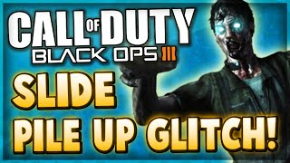 Black Ops 3 Zombies Glitches - PILE UP GLITCH ON SLIDE! (Zetsubou No Shima)