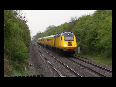 Tackley Station, Network Rail Class 43 HST Test Train