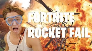 Fortnite 4 Life: Rocket Fail (Fortnite in Real Life: Live Action Parody)