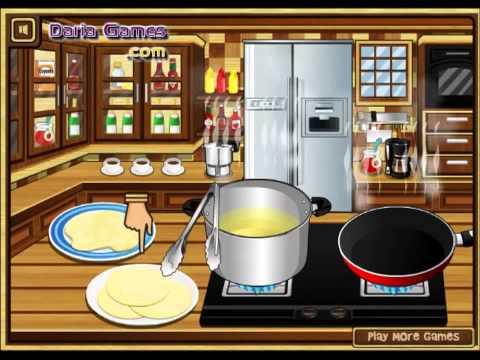 Приготовь  блюдо из сыра, видео игра для девочек