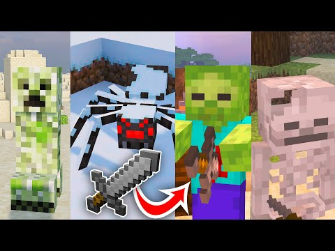 Use This Amazing Texture Pack To Enhance Mobs In Minecraft!