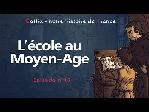 L'école au Moyen Age