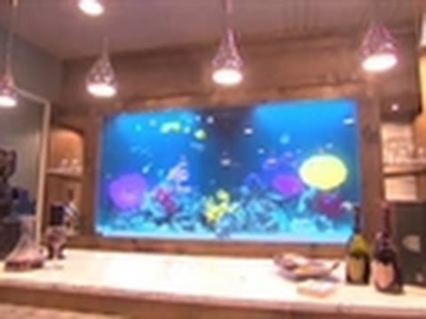 Man Cave With Tank : Tanked reveal: bart scott's man cave youtube