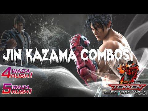 Tekken Mobile | Jin Kazama Basic and Advance Combos | TekkenExclusives