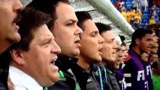 Mexican national anthem-Mexico vs. Cameroon-FIFA World Cup 2014
