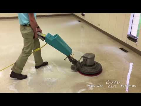 VCT Floor cleaning and refinishing in Kalamazoo MI and Southwest Michigan
