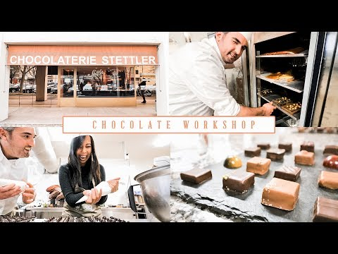 Chocolate Workshop with a Swiss Maître Chocolatier 🍫 (Chocolaterie Stettler, Switzerland)