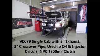 Unichip Toyota Landcruiser V8 VDJ79 - #1