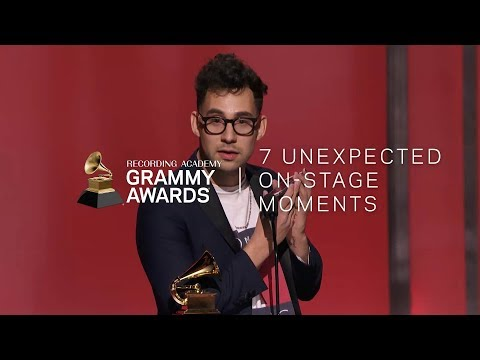 7 Unexpected On-Stage GRAMMY Moments
