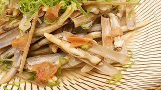 マテ貝の独特な風味が苦手という方でも食べやすいように、通常の酒蒸し...