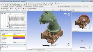 Simulating Bolted Assemblies with ANSYS