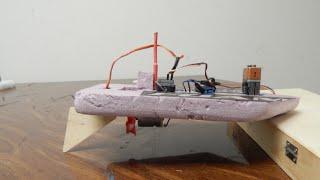 Mini RC Boat Build (Speed Build)