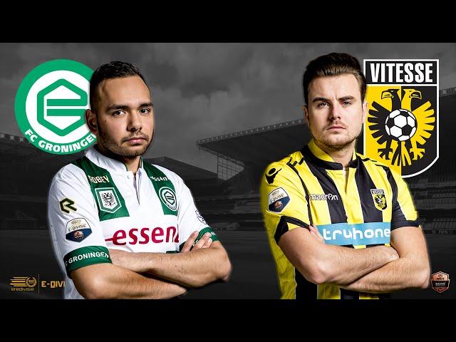 FC Groningen - Vitesse | Speelronde 19 | E-Divisie