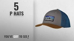 Top 10 P Hats [2018]: Patagonia P-6 Logo Trucker Cap for Adults