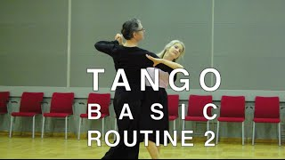 How to Dance Tango - Basic Routine 2