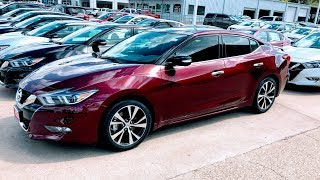 🔥🔥🔥2018 NISSAN MAXIMA PLATINUM REVIEW!!!!