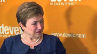 Kristalina Georgieva eyes more agile EU crisis response