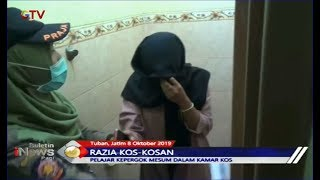 Razia Indekos, Pelajar SMK di Tuban Kepergok Bermesraan di Dalam Kamar - BIP 09/10