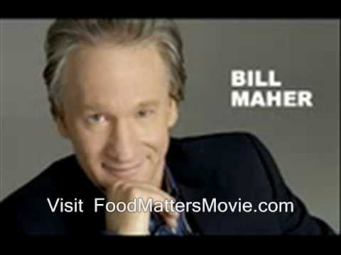 Bill Maher on Food & Health - Nails the #1 Challenge Today...