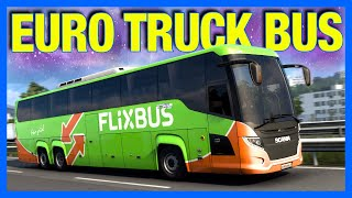 The Worst BUS Driver in Euro Truck Simulator 2