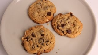 Chunky Chocolate Peanut Butter Cookies Recipe - Laura Vitale - Laura In The Kitchen Episode 335