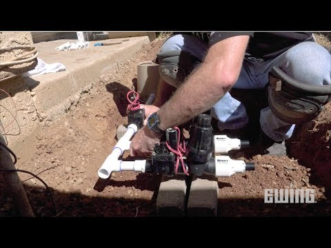 How To Replace A Sprinkler System Valve Manifold