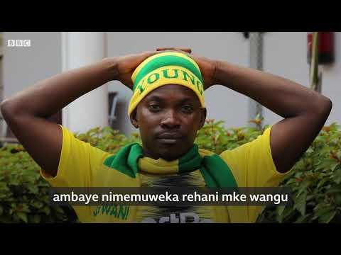Shabiki wa yanga Tanzania aliye mweka rehani mke.