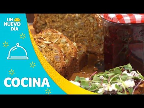 Receta para cocinar un pan de semillas saludable | Un Nuevo Día | Telemundo