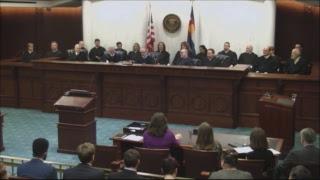 Swearing In Ceremony for Judge Lapinsky de Orlov