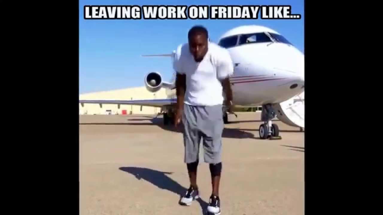 Kevin Hart Hustle Dance Meme Leaving Work On Friday Youtube
