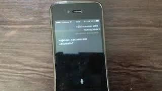 прикол с Siri