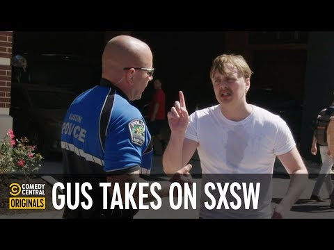 Gus Johnson Gives Out Homemade Beer at SXSW