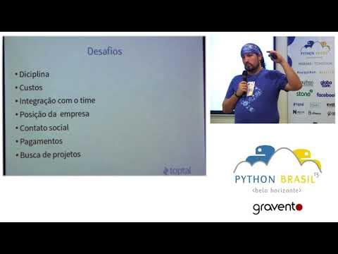 Desafios e vantagens do trabalho remoto freelancer Python. - Julio Melanda