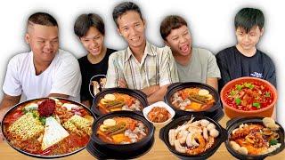Người Cuối Cùng Ngừng Ăn Mì Cay 7 Cấp Độ Hàn Quốc Sẽ Thắng 10 Triệu