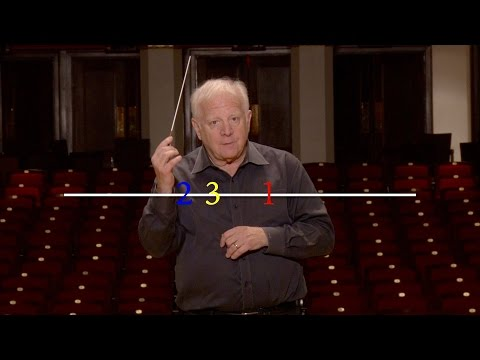 Lesson Three: The Basic 2 and 3 Patterns, Leonard Slatkin's Conducting School