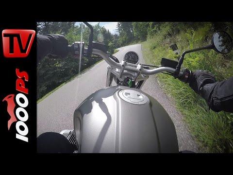 BMW R nineT Scrambler First Ride   Incredible Flat Twin Boxer Sound