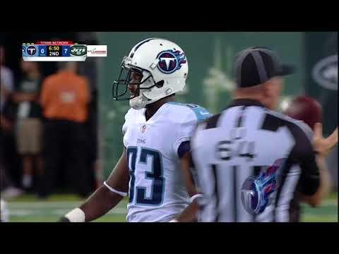 Harry Douglas Back To Back Catches  Jets vs Titans Preseason 