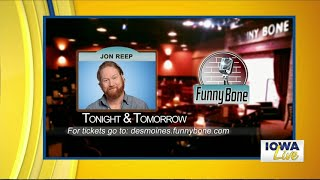 See Jon Reep at the Funny Bone this weekend