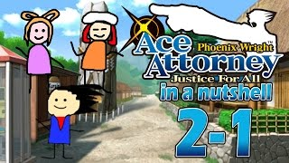 Phoenix Wright Ace Attorney: Justice For All In A Nutshell - Case 2 - Investigation