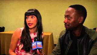 Lamorne Morris and Hannah Simone preview the upcoming season of 'The New Girl'
