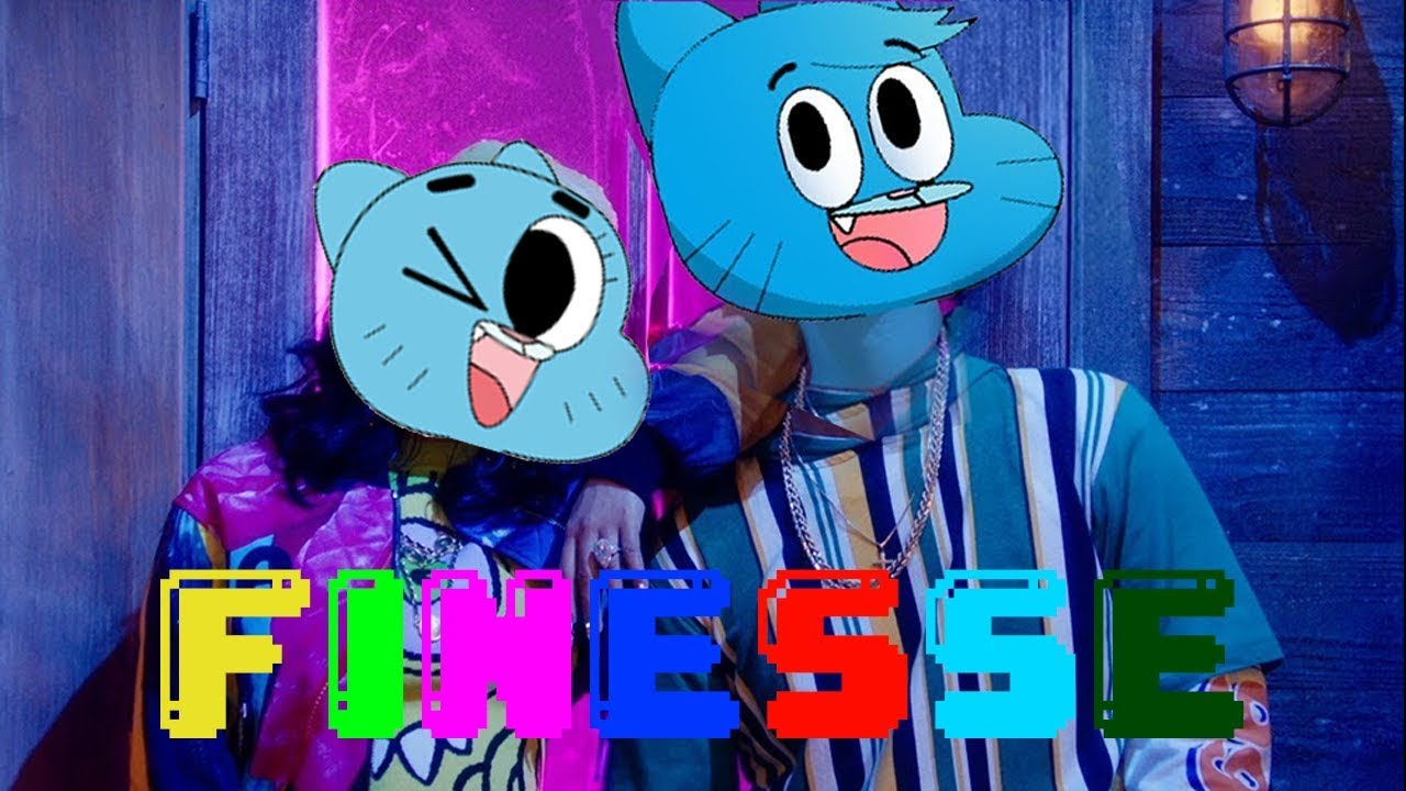 Gumball Sing Finesse Remix By Bruno Mars Ft Cardi B Official Cartoon Video
