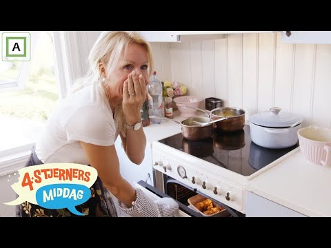 4-stjerners Middag   Anne Brith Davidsen har lagt termometermåleren i ovnen   TVNorge