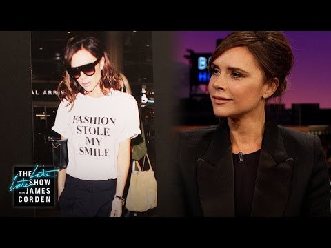 Victoria Beckham's Poker Face Works Well for Her