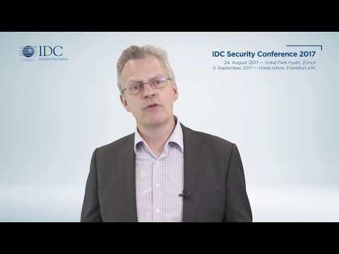IDC Security Conference 2017 – Zürich & Frankfurt