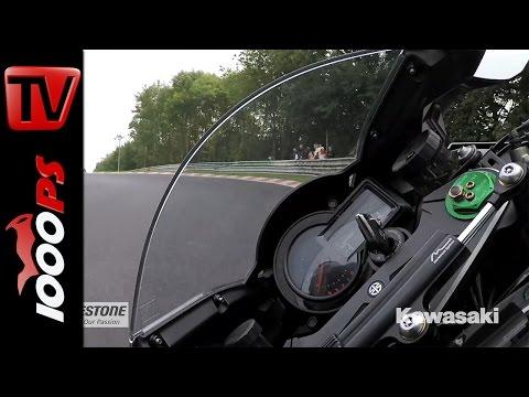 Kawasaki Ninja H2 Nordschleife | Gyrocam